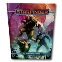 Starfinder Alien Archive 4 Book HC  Paizo Monster Manual New 2020 First ... - $39.97