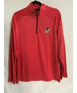 champion georgia bulldogs 1/4 zip up pullover SZ L - $24.69