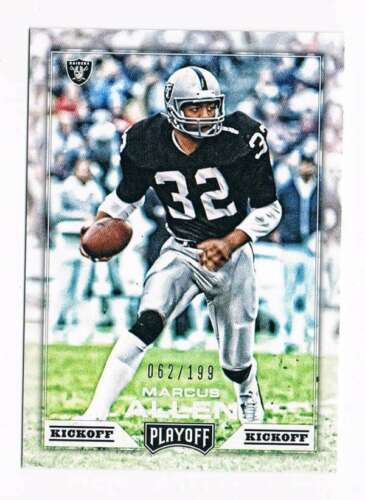 Primary image for 2016 Panini Playoff Kickoff #195 Marcus Allen NM-MT  / 199 Los Angeles Raiders