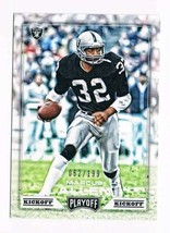 2016 Panini Playoff Kickoff #195 Marcus Allen NM-MT  / 199 Los Angeles R... - $5.68