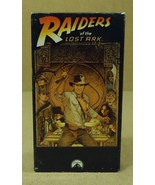 Paramount Raiders Of The Lost Ark VHS Movie  * Plastic Paper - $4.34