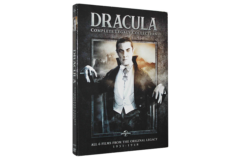 Dracula Complete Legacy Collection DVD Bxo Set 4 Dsic Free Shipping