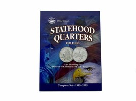 Official Whitman Statehood Quarter Folder with DC & Territories - $7.79