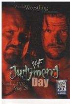 "'02 Fleer WWF Judgment Day ""Austin-Triple H"" PPV Poster Insert Card (Min... - $9.89"