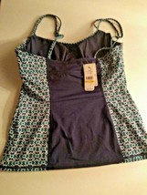 Tommy Bahama Actiive Under Wire Neck Tankini Size Medium image 2