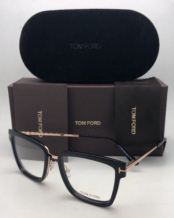 fec5f6782702 New TOM FORD Eyeglasses TF 5507 001 53-18 and 50 similar items