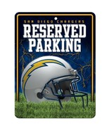 NFL San Diego Chargers Hi-Res Metal Parking Sign - $7.99