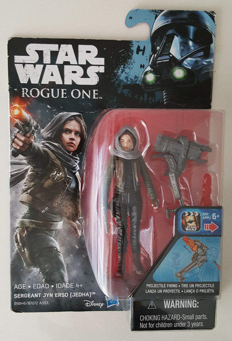 Star Wars The Black Series Sergent United erso action figure loose!!!
