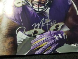 Oakland Raiders Baltimore Ravens Doug Martin GAME DAY Program Autograph image 3
