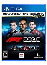 F1 2018 Headline Edition – PlayStation 4 [video game] - $44.50