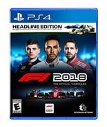 F1 2018 Headline Edition – PlayStation 4 [video game] - $44.50