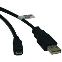 Tripp Lite U050-003 USB 2.0 Hi-Speed A-Male to Micro B-Male Cable (3ft) - $20.14
