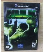 HULK NINTENDO GameCube Marvel Comics Complete Video Game Universal Studi... - $15.99