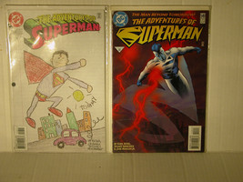 SUPERMAN - ADVENTURES OF #549 AND #558  - FREE SHIPPING TO U.S AND CANADA - $11.30