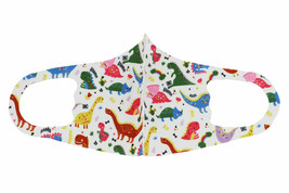 Lot of 12 Reusable Cloth Face Cover Stretch Handmade Washable Mask Toddler Kids image 2