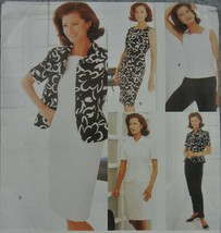 Vogue 1989 Misses 8-12 Petite Jacket Dress Top Skirt Pants Tomatotsu Off... - $9.89