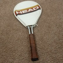 Vintage 70s Amf Head Tennis Racquet 4 5/8 Rare With Cover - $37.62