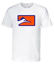 Correcaminos T-Shirt 100% Cotton  White,Blue,Orange Crew Neck - $24.99