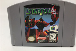 Star Fox 64 (Nintendo 64, 1997) N64 Authentic Cartridge Game Tested - $26.17