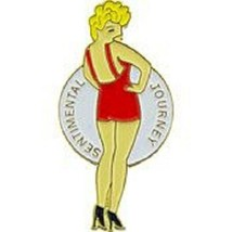 USAF Sentimental Jour Noes Art Pin - $5.93