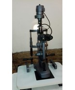 Slit Lamp Microscope 2 Step with Wooden Base SHIPS FROM USA - $691.68