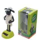 Shaun The Sheep Clay Animation Hero, Dancing Solar Power Figurine in Gif... - $11.92