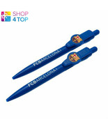 BARCELONA FC BLUE PEN SET WRITING OFFICIAL FOOTBALL SOCCER CLUB TEAM LIC... - $7.42
