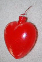 """Christmas Red Heart Ornament 4"""" Valentines Day Holiday Wedding Love Gift... - $24.70"""