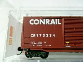 Micro-Trains # 18200120 Conrail 50' Standard Box Car 8' Double Doors N-Scale image 2
