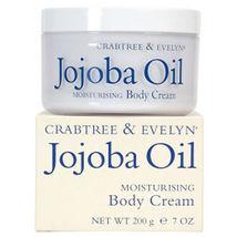 Crabtree & Evelyn JOJOBA OIL Moisturising Body Cream - 7.1 oz / 200 g - ... - $38.99