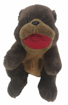 "Brown Bear Plush Hand Puppet 12""  Plush Creations Teddy Bear Stuffed Animal - $39.59"