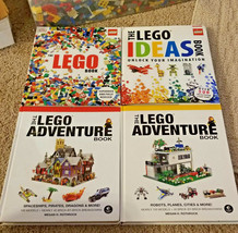 LEGO 4 guides / Books Bundle 4 FOR $55 FREE SHIPPING -OR- 2 for $27 F/S  - $54.45