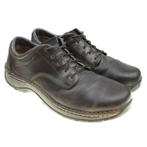 Red Wing 6704 Mens 12 D Brown Leather Safety Toe Work Shoes Oxford Steel... - $42.52