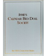 ANNIE'S 1995 CALENDAR BED DOLL SOCIETY  THE BALL GOWN SERIES - $18.99