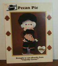 Pecan Pie Doll Cupcake Corner Dumplin Designs Crochet Pattern Leaflet - $6.89