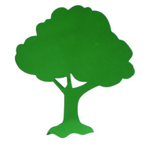 Tree Cutouts Plastic Shapes Confetti Die Cut FREE SHIPPING - £5.55 GBP