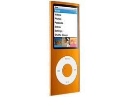 Apple iPod nano 4th Generation chromatic Orange 16 GB MP3 Player MB911LL... - $220.20