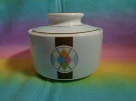 "Studio Nova Fine China ""ARGYLE"" Y0750 Replacement Sugar Bowl w/ Lid Thailand - $9.89"