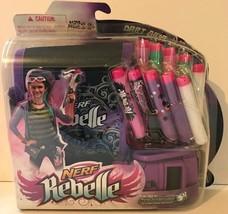 Nerf Rebelle Dart Diva Bag and Belt - Includes 10 Darts And Adjustable Belt NEW - $14.18