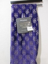 Halloween Adirondack By Berkshire Purple Silver Skull Plush Throw Blanke... - $35.99