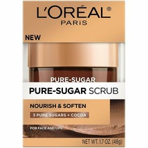 L'Oréal Paris Pure Sugar Scrub Nourish & Soften, 1.7 oz. by L'Oreal Paris - $8.59