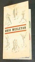 Vintage Ohio Wesleyan College Wrigleys Chewing Gum Finger Poke Out Adver... - $29.65