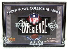 1993 Upper Deck Super Bowl Collector Series NFL Experience Football Set ... - $19.79