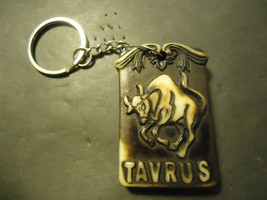 TAVRUS BULL KEYCHAIN   (14537)   >> C/S & H AVAILABLE  - $4.95
