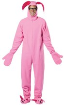 A Christmas Story Ralphie Bunny Costume Pink Adult Men Women Halloween G... - €57,38 EUR