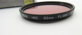 HOYA - HMC - FL Day Filter 62mm - w/ Box & Instructions - Super Clean Co... - $7.70