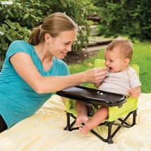 Camping Booster Seat Portable Folding Travel Infant Dining Baby Feeding ... - $37.61