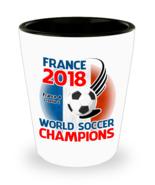 France World Soccer Champions 2018 Collectors Shot Glass Man Cave Commem... - $11.99