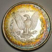 1885 O LUSTER RAW  MORGAN SILVER DOLLAR . KEY DATE  520 - $93.10