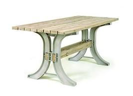2x4 basics 90152 Patio Table, Flip Top Bench, Sand - £51.82 GBP